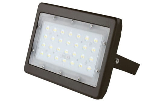 50W Flood Light Aspect View