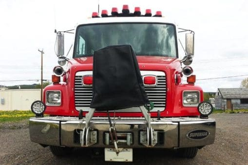 Houston Fire Department Truck with 2 x 7
