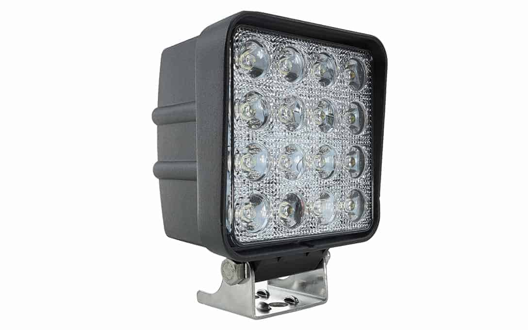 N1748 4 Square 30 186 Flood Nightrider Leds