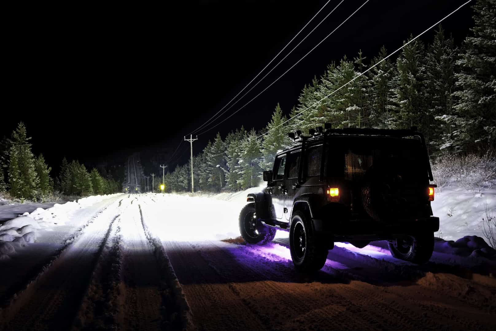 """20"""" Curved Extreme Single Row - NightRider LEDS ..."""