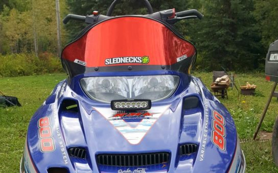N1918S installed on snowmobile