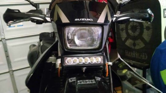 Suzuki Motorcycle with 6