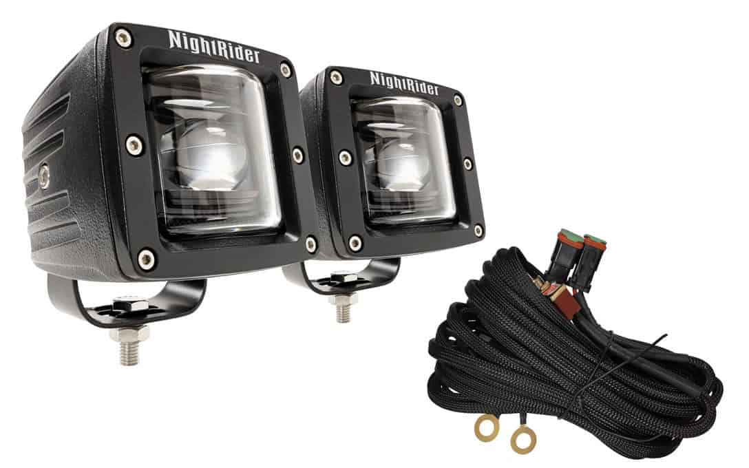 "3"" Cube SAE/DOT Fog Light Kit"