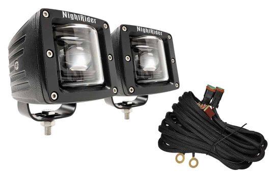 """3"""" Cube SAE/DOT Fog Light Kit"""