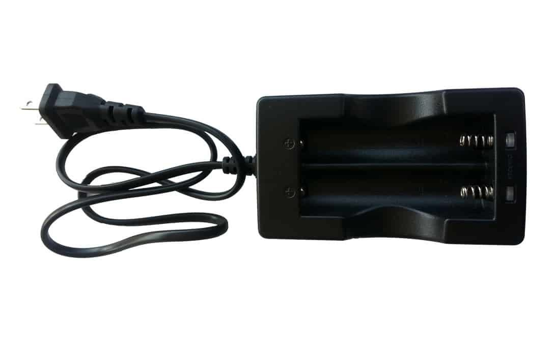 Double Charger for Batteries of NightFire Torches