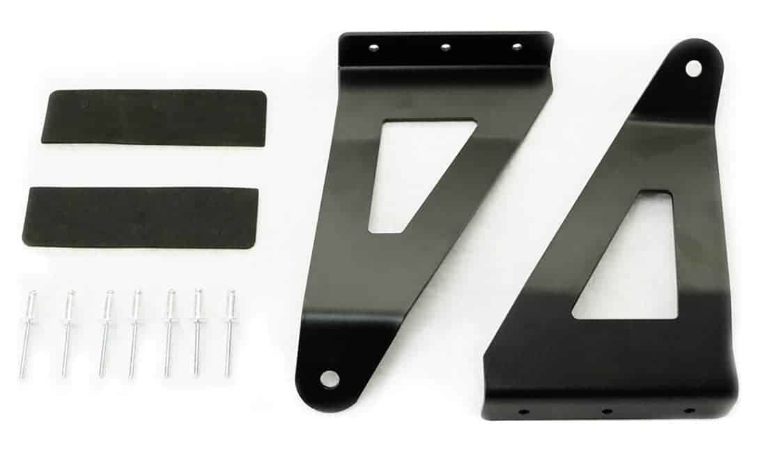 "Pillar Mount Set for Ford F150 to install 55"" Curved Double Row Light Bar"