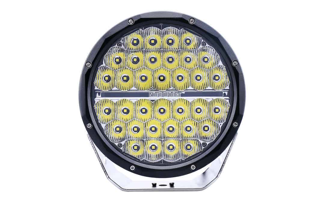 "Street Legal 9"" Round Driving Light with Daytime Running Lights"