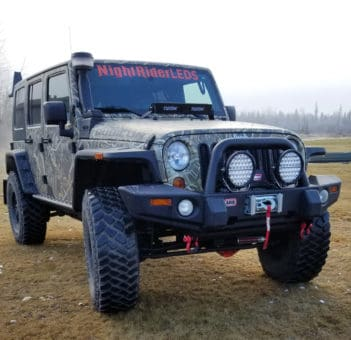 Jeep with N9REM Lights