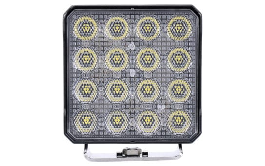 "High Intensity 4.5"" Square Work Light - Front"