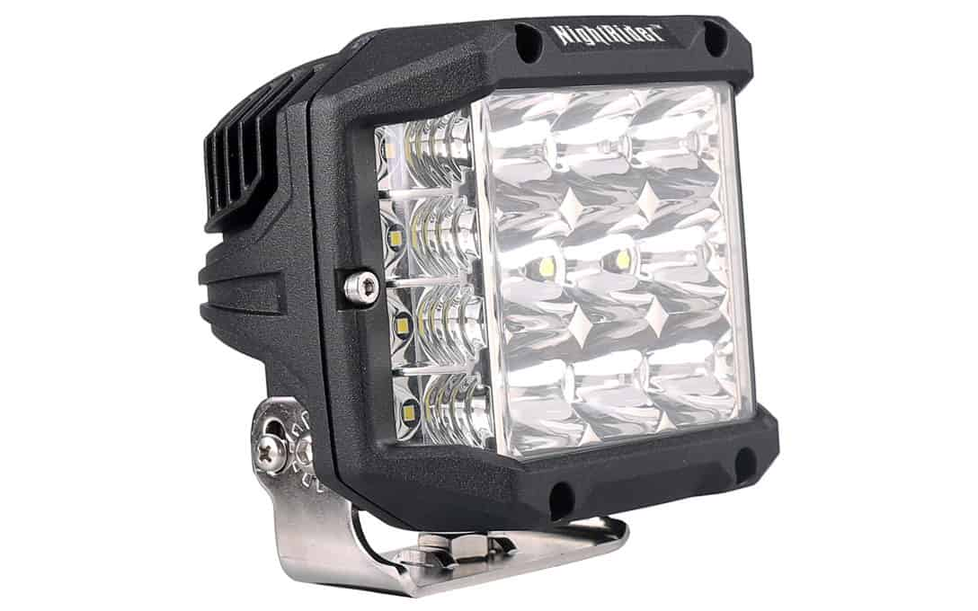 Large Side Shooter LED Light - Side View