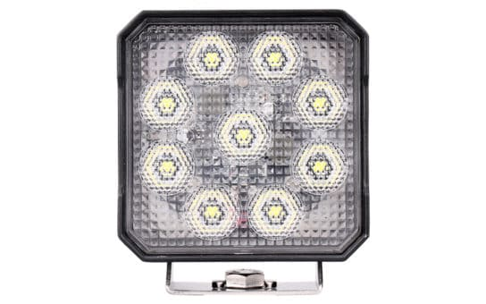 "High Intensity 4"" Square Work Light - Front"