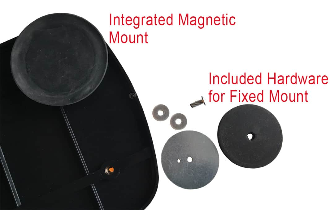 Magnetic and Fixed Mount