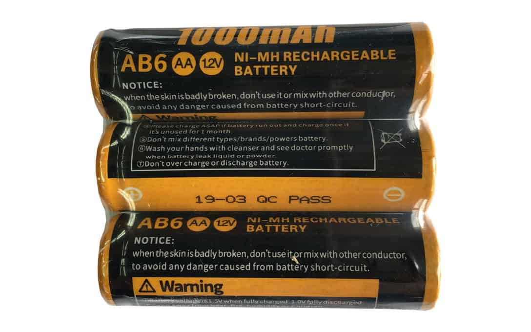 Set of 3 AA Batteries