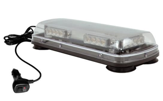 "17"" SAE certified Beacon Bar with Clear Cover"