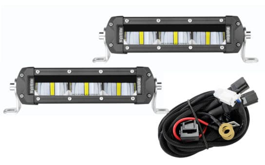 "6"" SAE/DOT Fog Light Bar Kit"