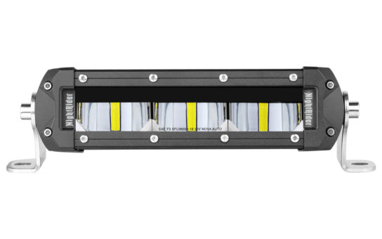 "6"" SAE/DOT Fog Light Bar Front View"