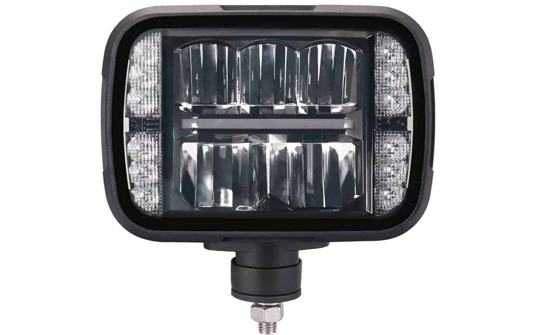 5x7 Sealed Beam Replacement Headlight with vertical Mount