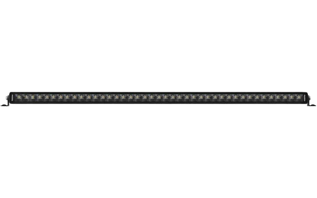 "Jet Black 40"" Single Row E-Mark Bar - Front View"