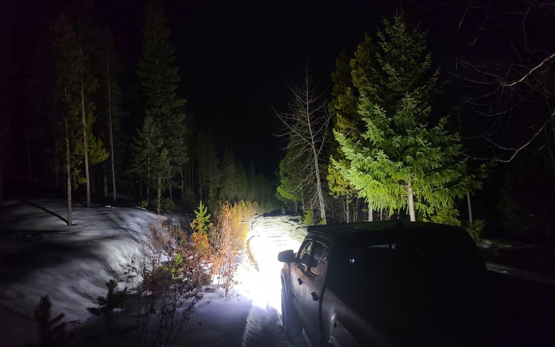 """NightRider™ 20"""" Heated Light Bar Lights Up the Night"""