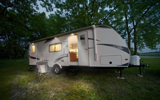 Camper with Scene Lights