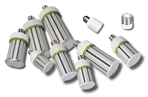 Various Corn Lights and Adapters