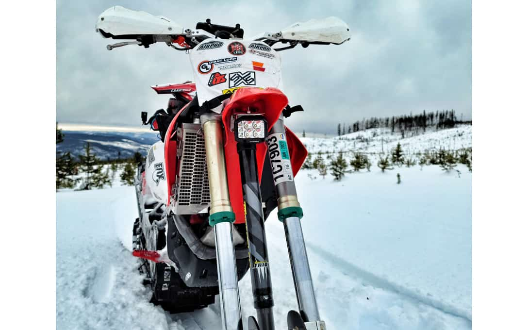 Snow Bike with NightRider™ Side Shooter Light