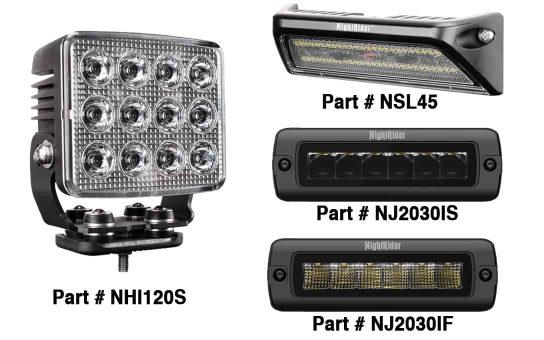 Edgeless New Lights added to NightRider line-up