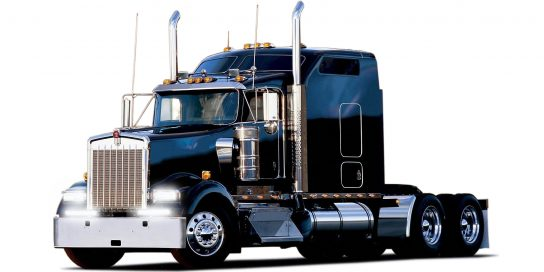 Transport Truck with SAE Double Row Bars