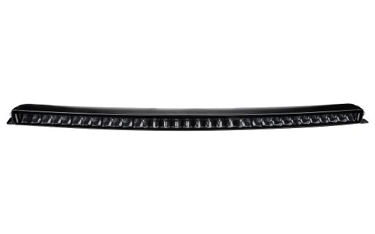 """32"""" JET BLACK Curved Single Row Bar with E-Mark Certification - Front View"""