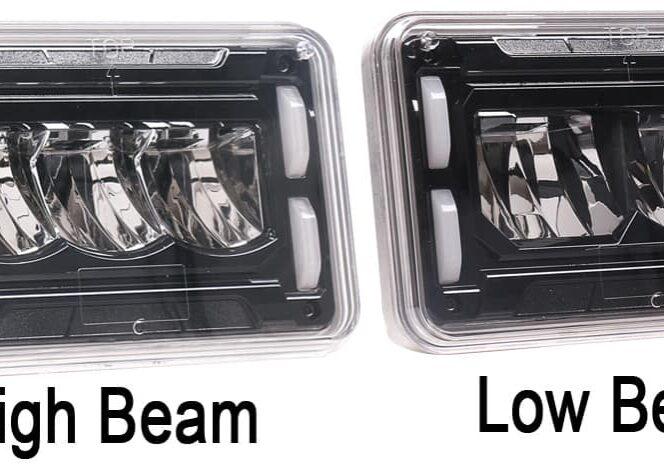 High and Low Beam on same image