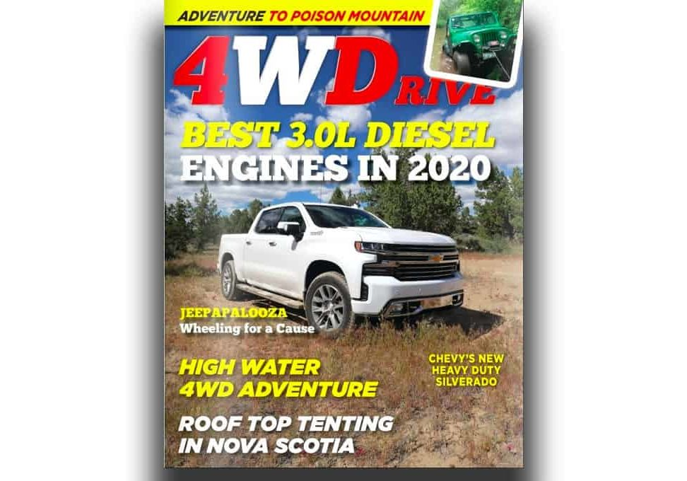 October 4WD Cover Small